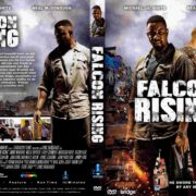 Falcon Rising (2014) DUTCH R2 CUSTOM DVD Cover & Label