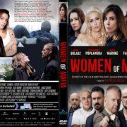 Women Of Mafia (2018) R2 CUSTOM DVD Cover & Label