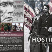 Hostiles (2017) R1 Custom DVD Cover & Label