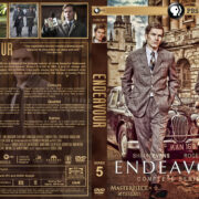 Endeavour – Series 5 (2018) R1 Custom DVD Cover & Labels