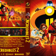 Incredibles 2 (2018) R0 Custom DVD Cover