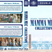 Mamma Mia Collection (2008-2018) R1 Custom Blu-Ray Cover