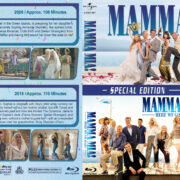 Mamma Mia Double Feature (2008-2018) R1 Custom Blu-Ray Cover