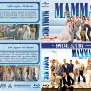 Mamma Mia Double Feature (2008-2018) R1 Custom Blu-Ray Cover