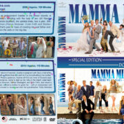 Mamma Mia Double Feature (2008-2018) R1 Custom DVD Cover