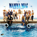 Mamma Mia: Here We Go Again (2018) R1 Custom DVD Label