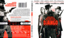 Django Unchained (2012) R1 Blu-Ray Cover