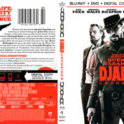 Django Unchained (2012) R1 Blu-Ray Cover