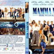 Mamma Mia: Here We Go Again (2018) R1 CUSTOM DVD Cover & Label