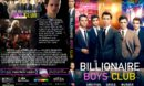 Billionaire Boys Club (2018) R1 CUSTOM DVD Cover & Label