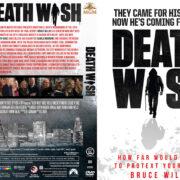 Death Wish (2018) R1 Custom DVD Cover