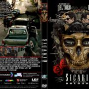 Sicario: Day Of The Soldado (2018) R1 CUSTOM DVD Cover & Label
