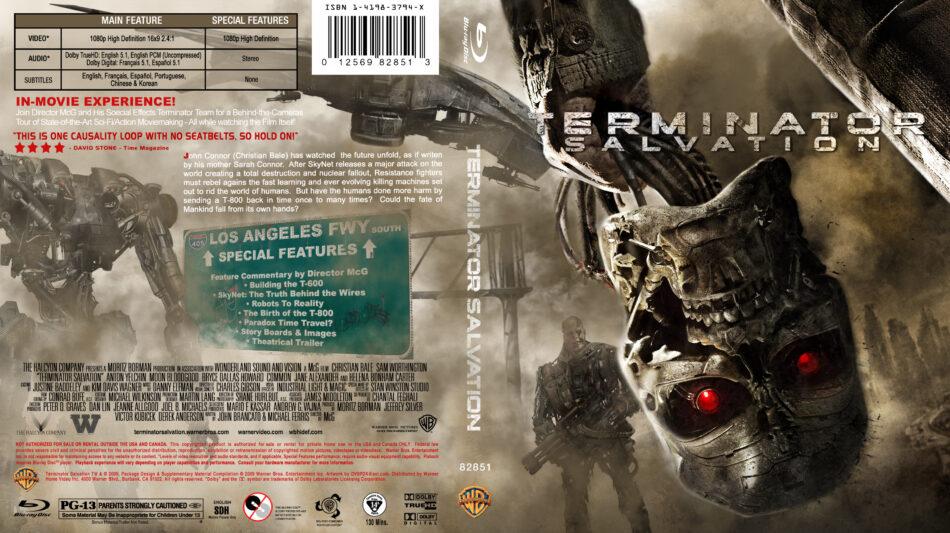 Terminator Salvation 2009 R1 Custom Blu Ray Cover Dvdcover Com