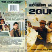 2 Guns (2013) R1 SLIM DVD Cover