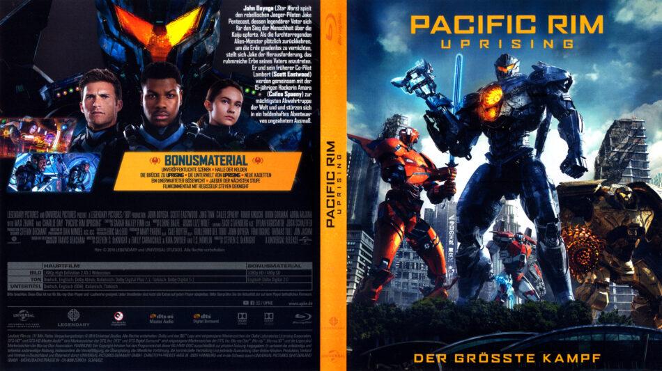 Pacific Rim Uprising 2018 R2 German Blu Ray Covers Dvdcover Com