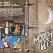 The Adventures of Ma & Pa Kettle, Vol. 1 & 2 (2003) R1 DVD Cover