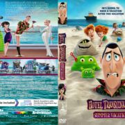 Hotel Transylvania 3: Summer Vacation (2018) R1 CUSTOM DVD Cover & Label
