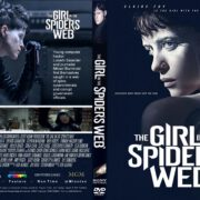 The Girl in the Spider's Web (2018) R1 CUSTOM DVD Cover & Label