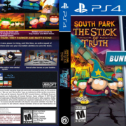South Park: The Stick of Truth/The Fractured But Whole Bundle PS4 Custom Cover