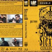 Sicario Collection (2015-2018) R1 Custom Blu-Ray Cover