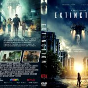 Extinction (2018) R1 CUSTOM DVD Cover & Label