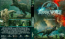 Jurassic World: Fallen Kingdom (2018) R1 CUSTOM DVD Cover & Label