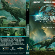 Jurassic World: Fallen Kingdom (2018) R1 CUSTOM DVD Cover & Label