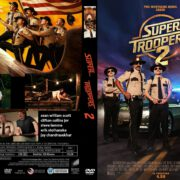Super Troopers 2 (2018) R0 CUSTOM DVD Cover & Label