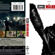 The Walking Dead: Season 7 (2017) R1 DVD Cover & Labels