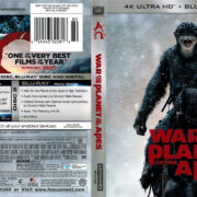 War for the Planet of the Apes (2017) R1 4K UHD Cover