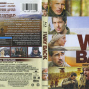 The Way Back (2010) R1 Blu-Ray Cover & Label