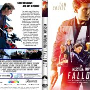 Mission Impossible-Fallout (2018) R1 CUSTOM DVD Cover & Label