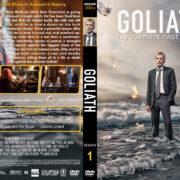 Goliath - Season 1 (2016) R1 Custom DVD Cover & Labels