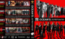 Ocean's: The Complete Collection (2001-2018) R1 Custom Blu-Ray Cover