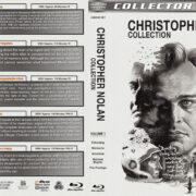 Christopher Nolan Collection – Volume 1 (1998-2006) R1 Custom Blu-Ray Cover