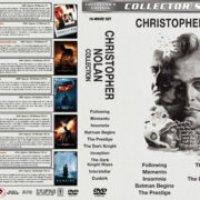 Christopher Nolan Collection (10) (1998-2017) R1 Custom DVD Cover