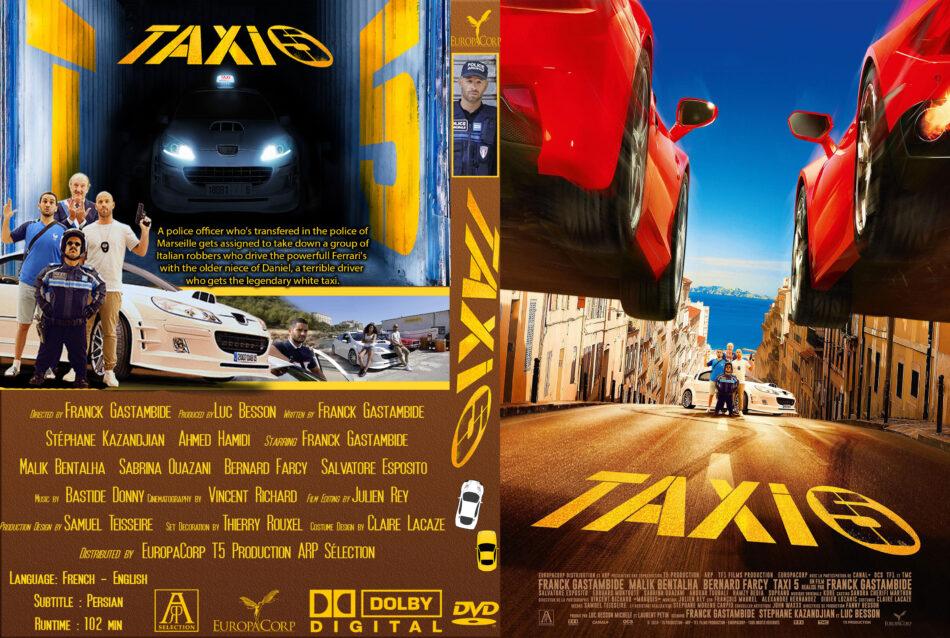 Taxi 5 (2018) R0 Custom DVD Cover - DVDcover.Com
