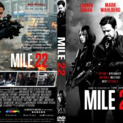 Mile 22 (2018) R1 CUSTOM DVD Cover & Label