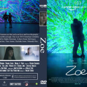 Zoe (2018) R0 Custom DVD Cover