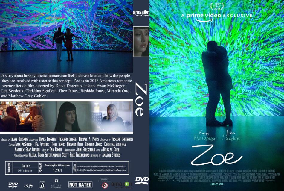 Zoe (2018) R0 Custom DVD Cover - DVDcover.Com