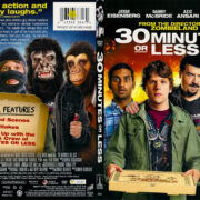 30 Minutes or Less (2011) R1 SLIM DVD Cover