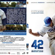 42 (2013) R1 SLIM DVD Cover