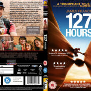127 Hours (2010) R2 SLIM CUSTOM DVD Cover