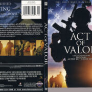Act of Valor (2012) R1 SLIM DVD Cover