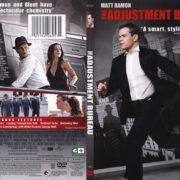The Adjustment Bureau (2011) R1 SLIM DVD Cover