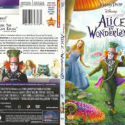 Alice in Wonderland (2010) R1 SLIM DVD COVER