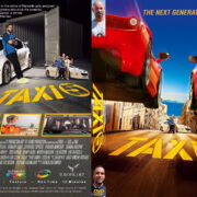Taxi 5 (2018) R2 CUSTOM DVD COVER & Label