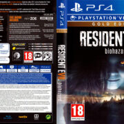 Resident Evil 7 biohazard Gold Edition (2017) PAL PS4 Cover