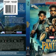 Black Panther (2018) R1 Blu-Ray Cover