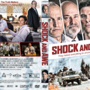 Shock and Awe (2017) R1 Custom DVD Cover & Label
